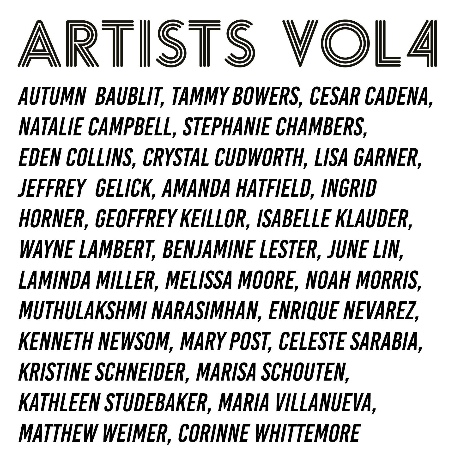 AASH vol4 Artists