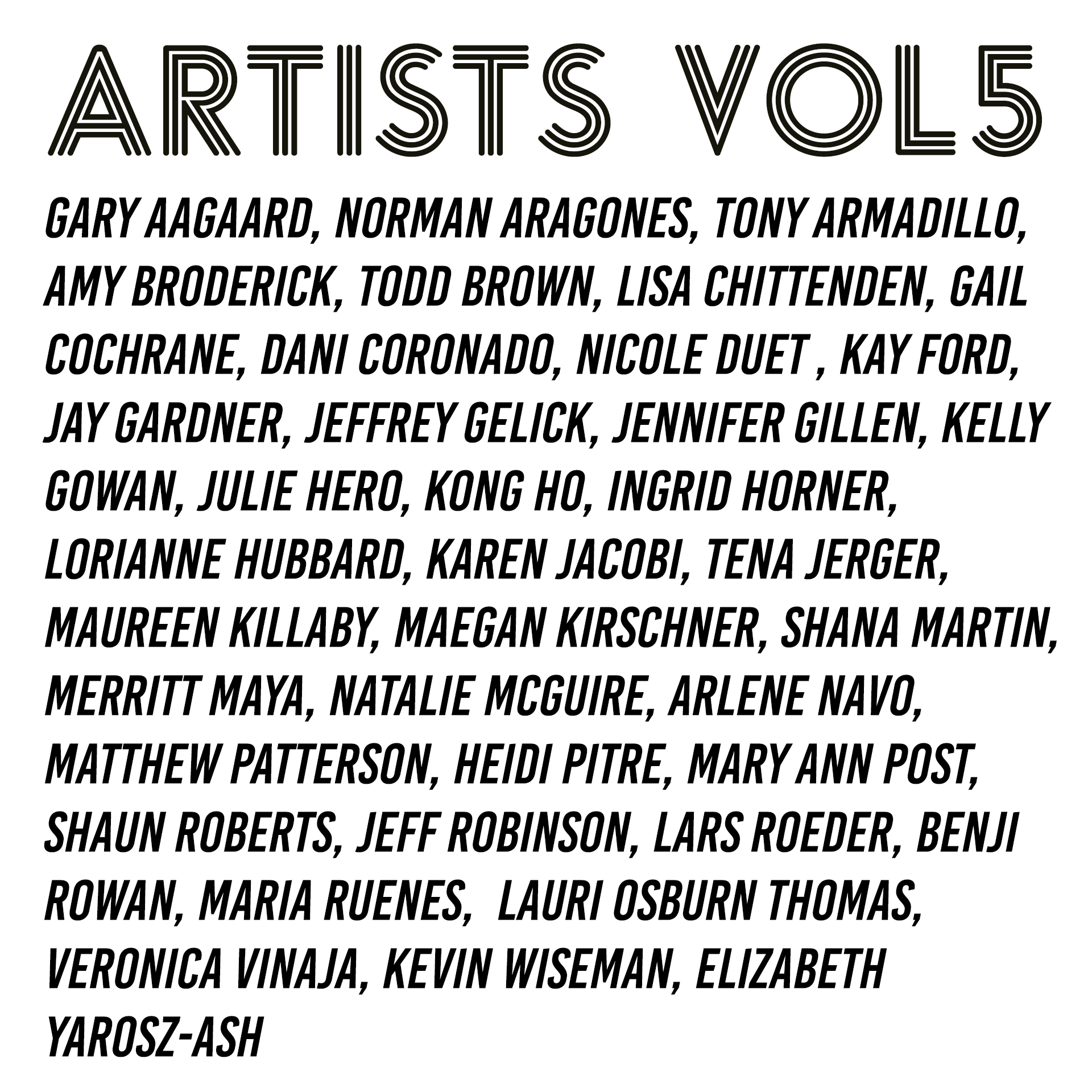 aash vol5 art show Tyler Martin Walker